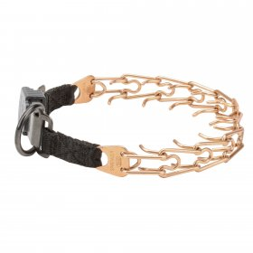 Herm Sprenger Curogan Prong Collar with Quick Release Buckle