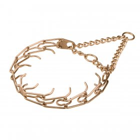 Herm Sprenger Curogan Prong Collar with O ring