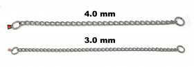 Herm Sprenger Stainless Steel Choke Chain Slip Collar 4mm