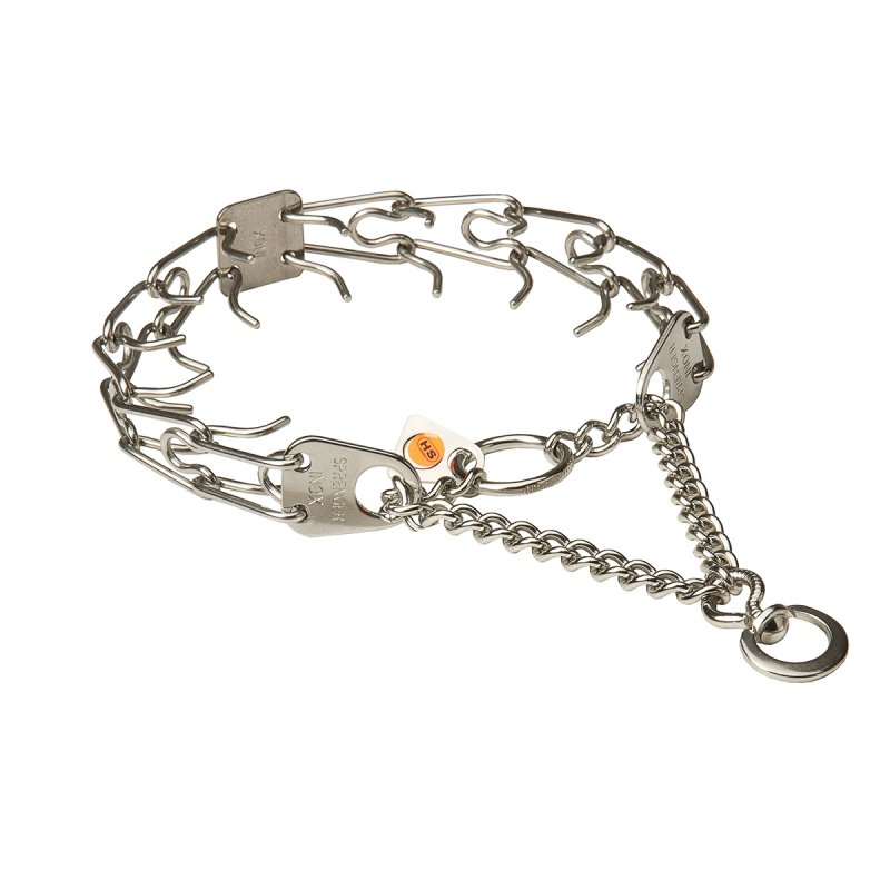 Herm Sprenger Stainless Steel Prong Collar with Swivel